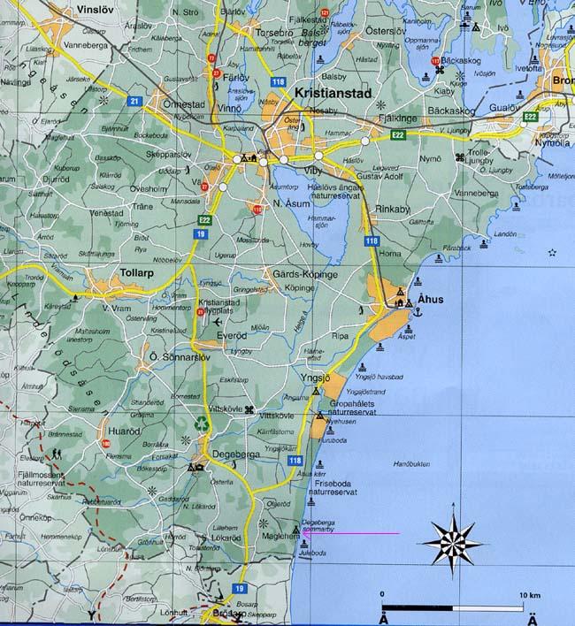 karta vägbeskrivning Vägbeskrivning/Driving directions | Rigelejestrand Camping karta vägbeskrivning